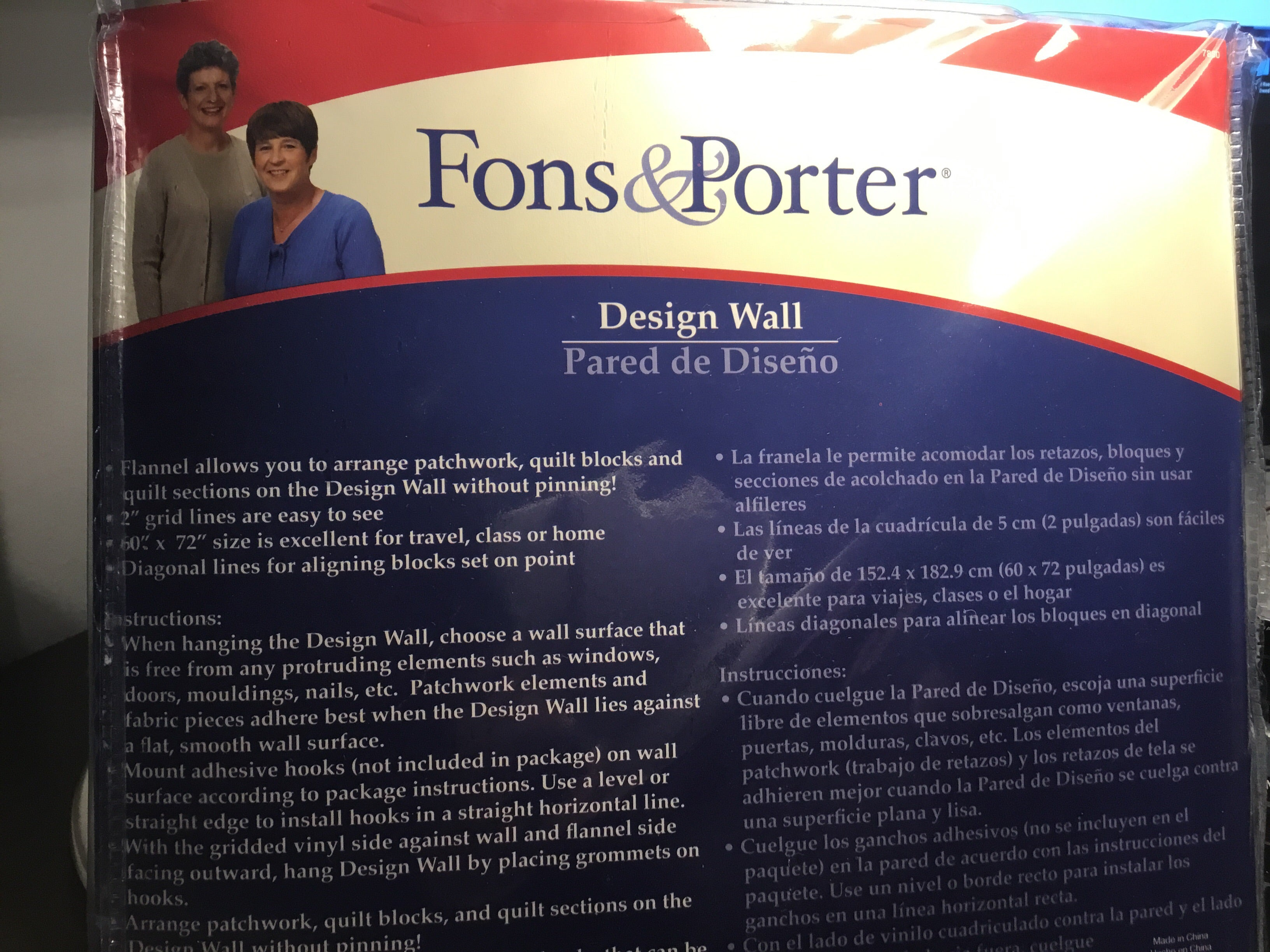 Design Wall by Fons & Porter - 7860