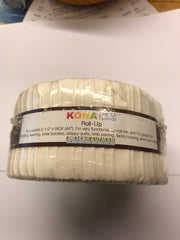Kona Solid Snow Colorstory Roll Ups - RU-189-40