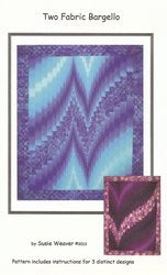 Two Fabric Bargello pattern
