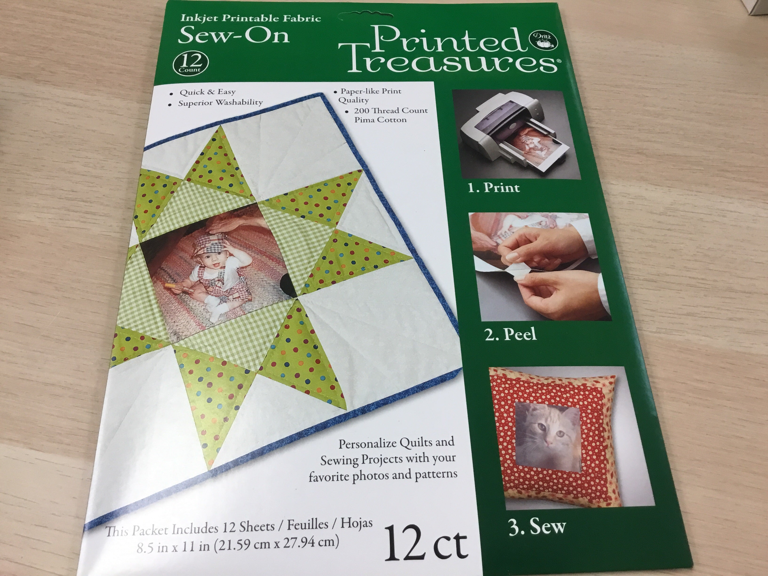 Sew On Printed Treasure - 12 pages - PT-112