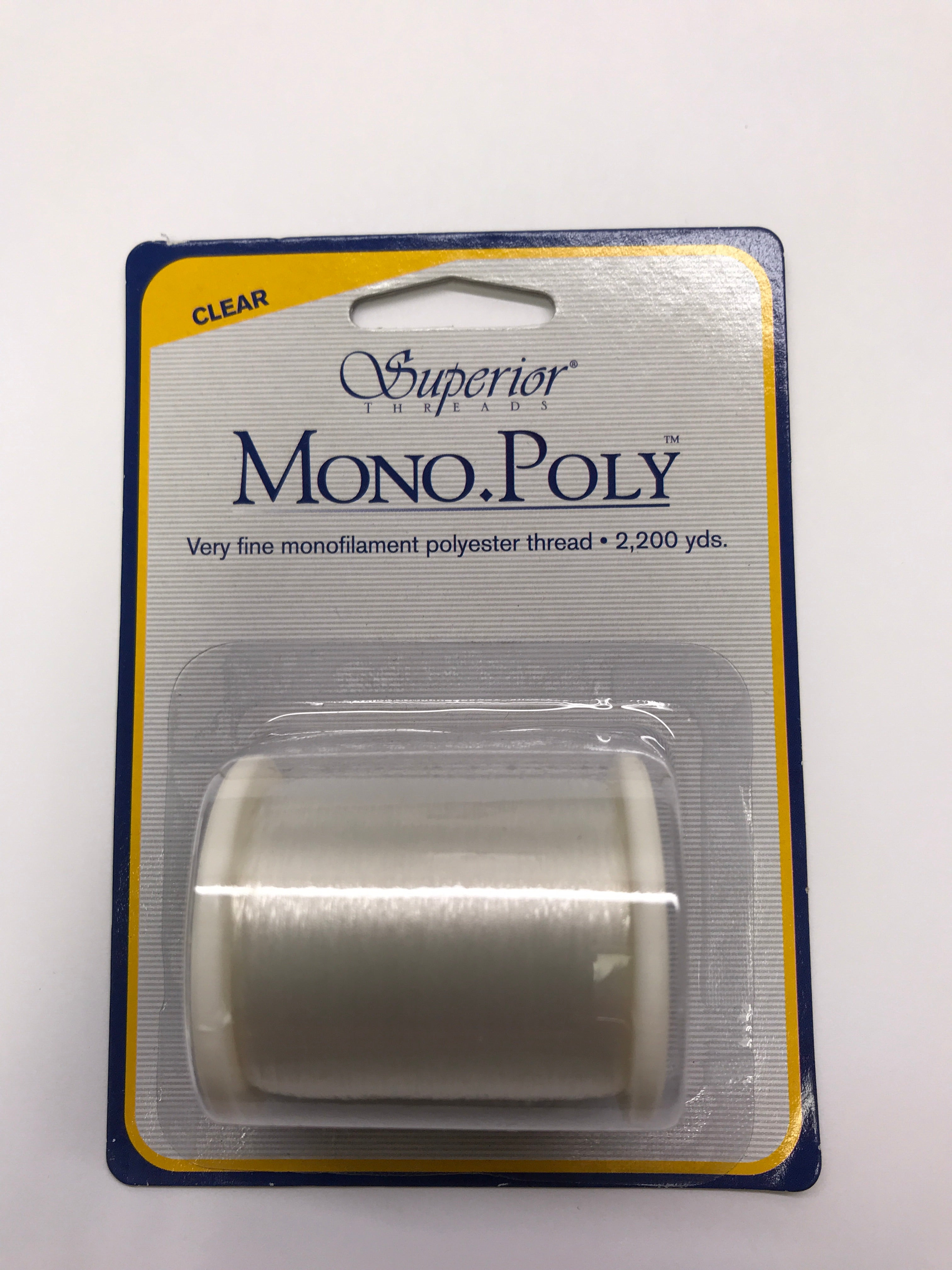 Mono Poly Thread - Clear - 0.004mm - 2200 meters
