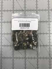 Chicago Screws (1/2 bag - 25) - Antique Brass Finish