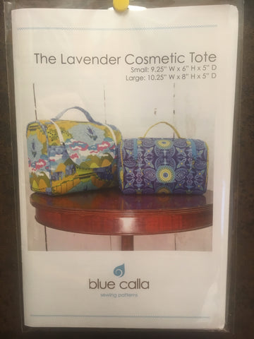 The Lavender Cosmetic Tote - 2 sizes