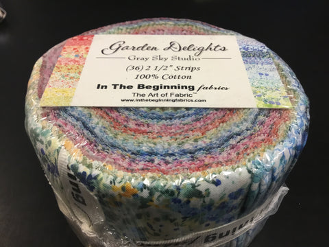 "Garden Delights 37 x 2 1/2"" Jelly Rolls"