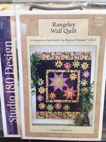 Rangeley Wall Quilt - Pattern for Tucker Trimmer I Tool