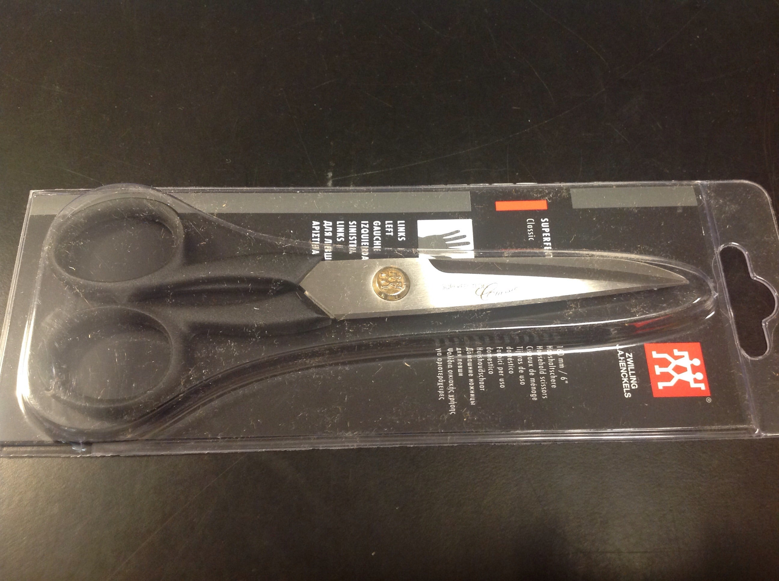 Henckels Scissors - left handed 6""