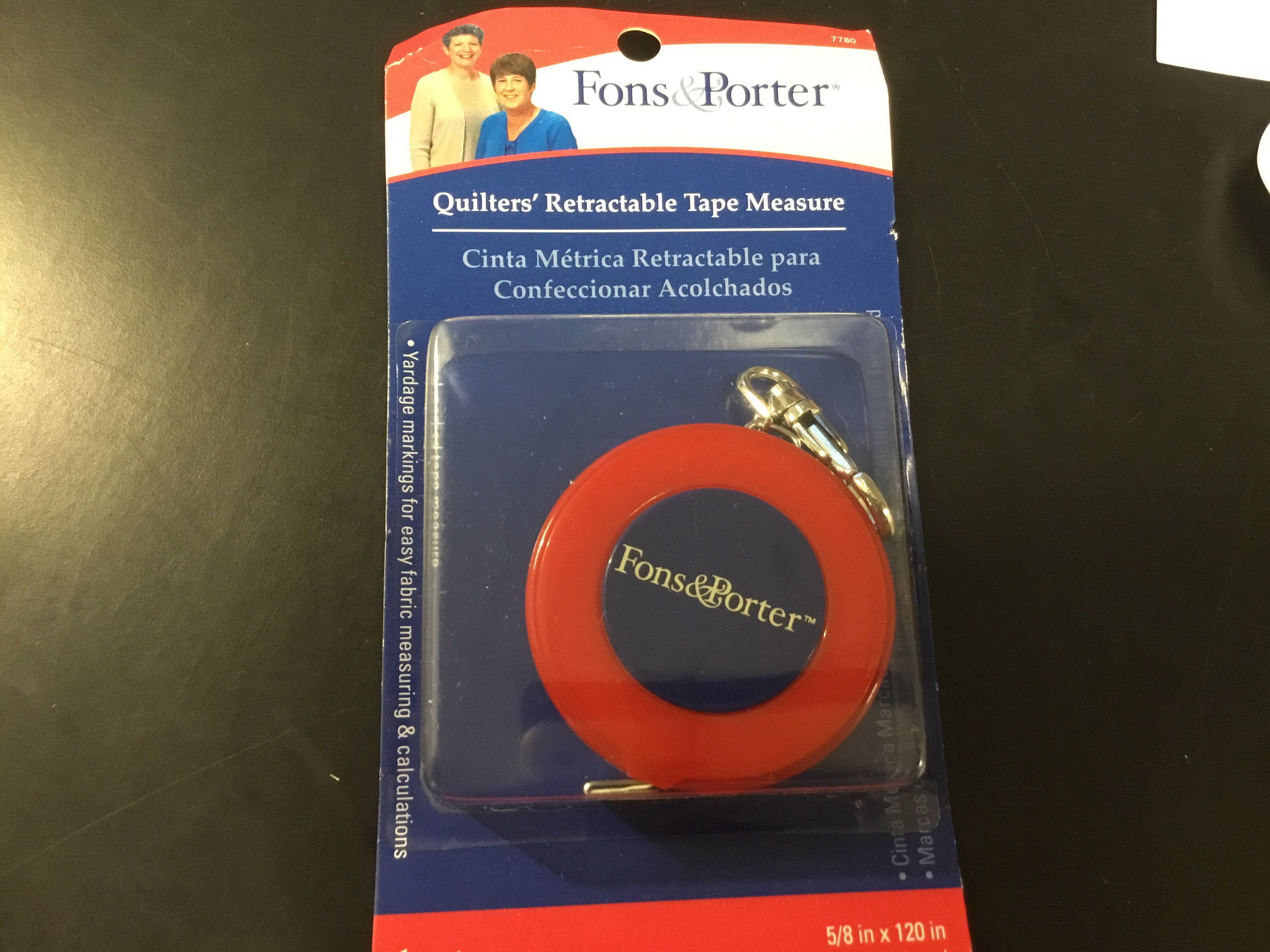 Quilters Retractable Tape