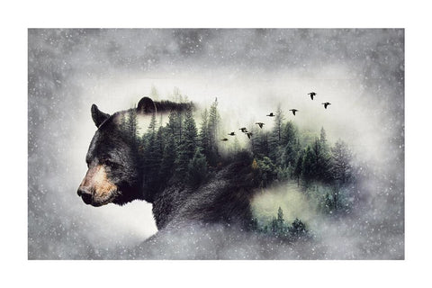 Call of the Wild Forest Bear 24356-44 (.7m panel)