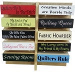 Quilting Signs