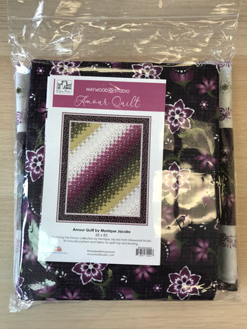 Amour Quilt Kit - MASAMO - 54930592 pattern/ fabric for 68x83 quilt/binding