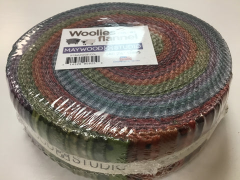 Woolies Flannel Jelly Roll