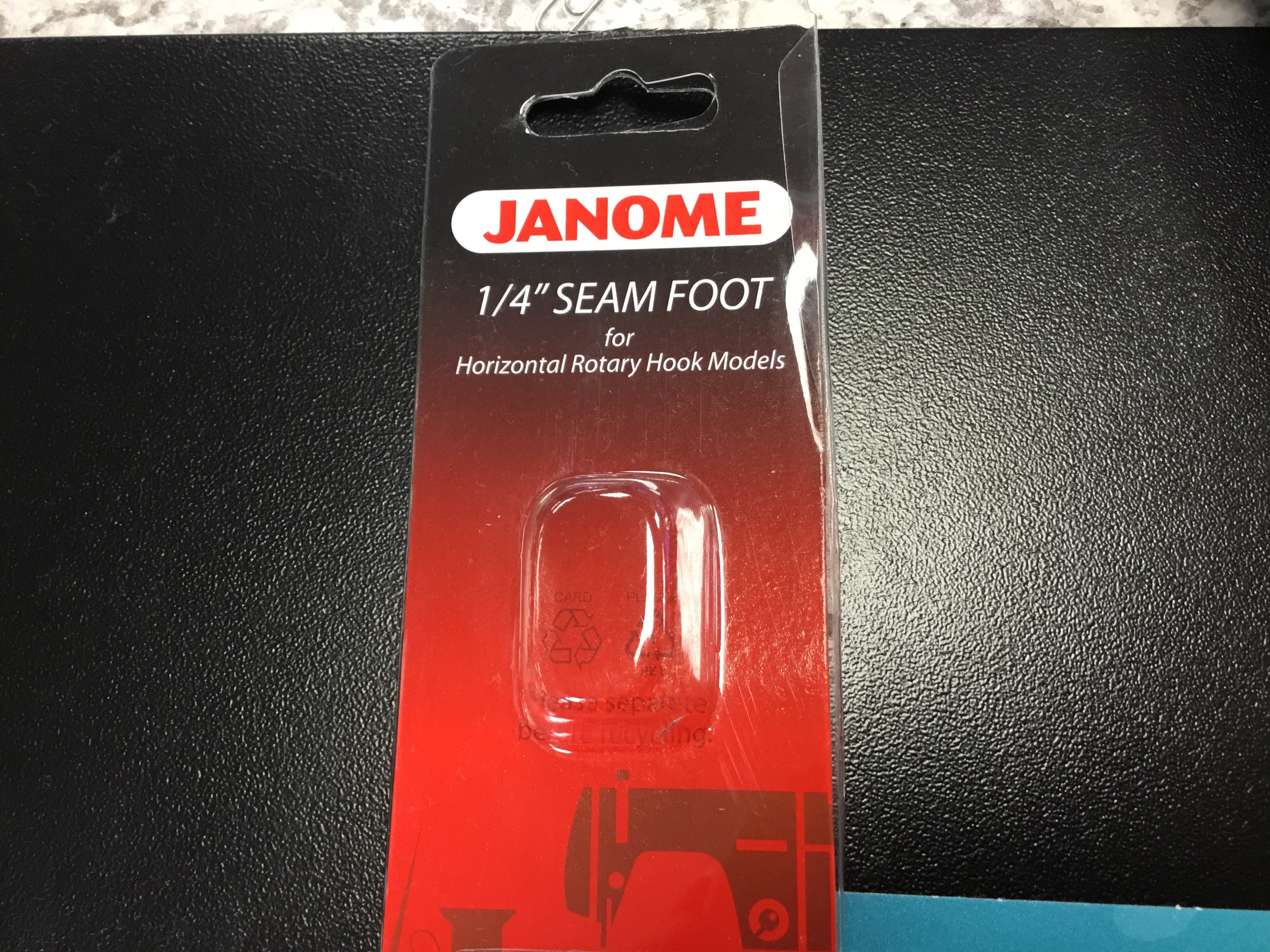 "Janome 1/4"" Seam Hook (Top plate)"