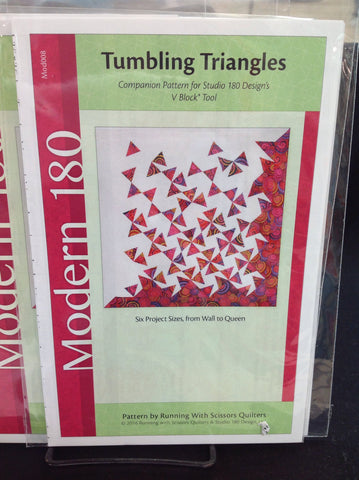 Tumbling Triangles - Modern Studio 180 Design