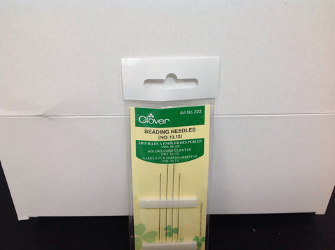 Beading Needles - No.10,13  4/pkg  - 233