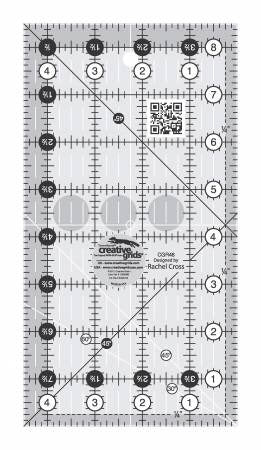 "Creative Grids Ruler - 4 1/2"" X 8 1/2""  - CGR48"