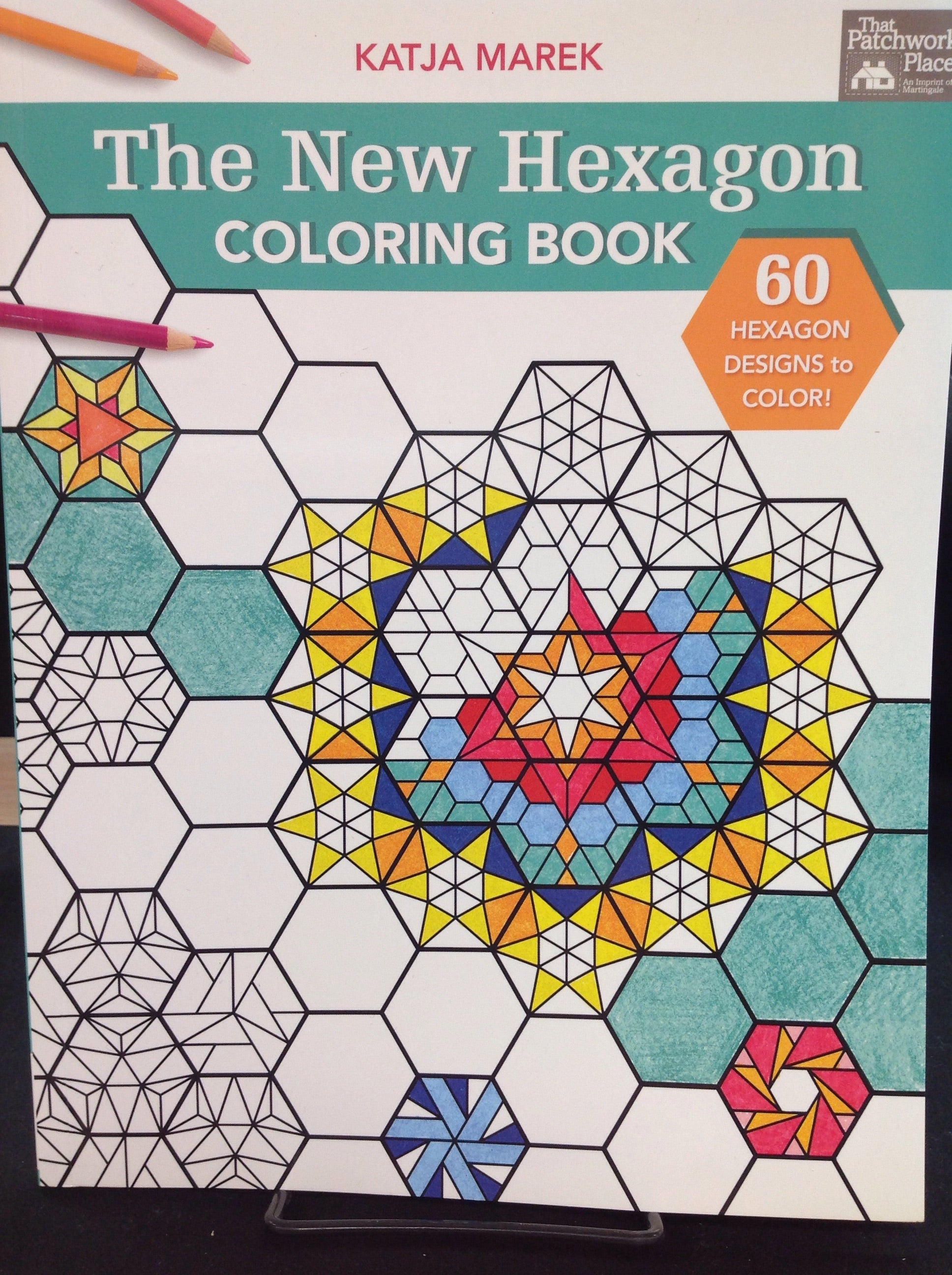 The New Hexagon Colouring Book - Katja Marek