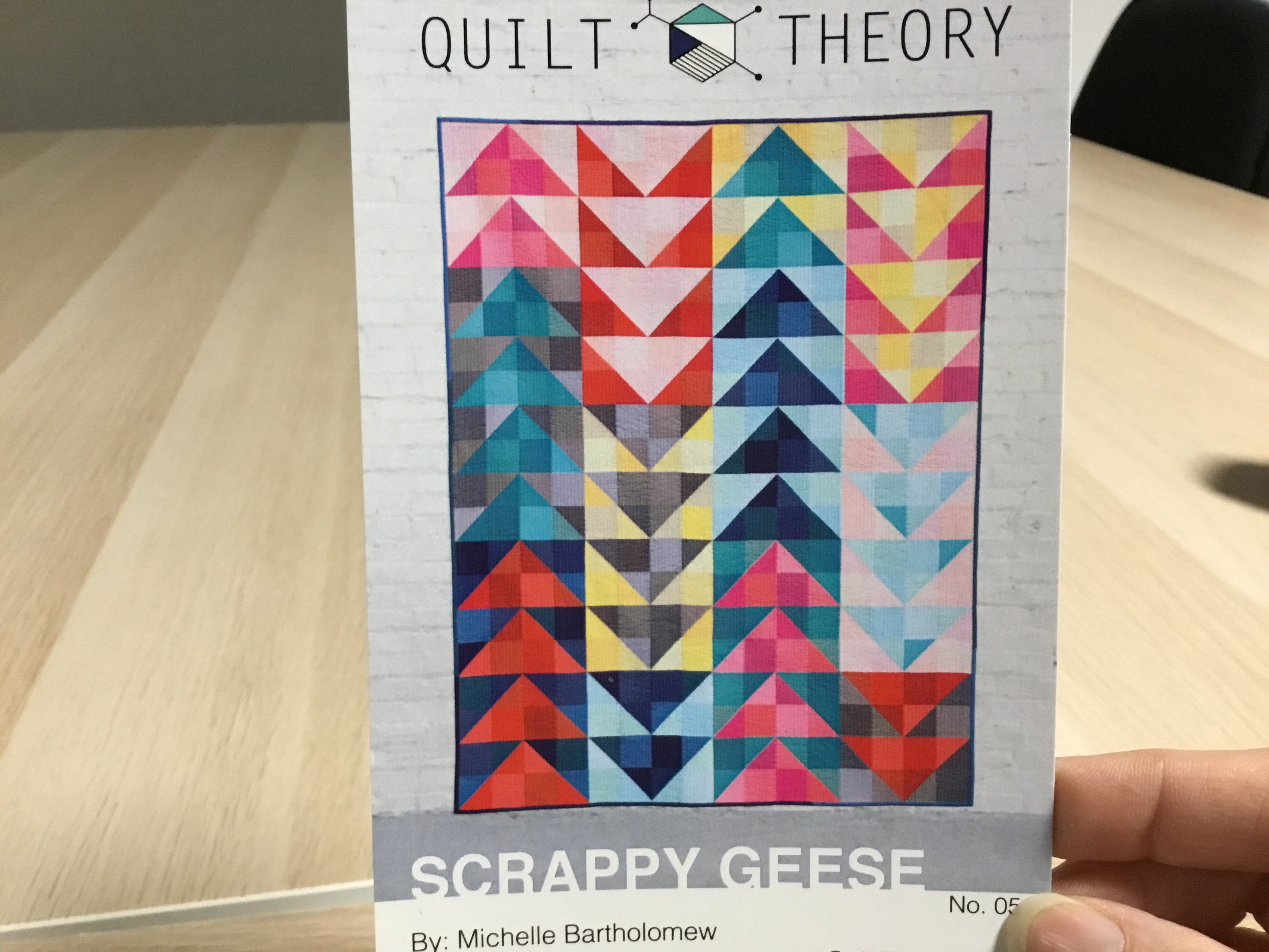 Scrappy Geese Pattern