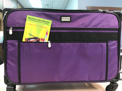 Tutto Machine Case On Wheels 2XLarge - Purple - 9228PMA