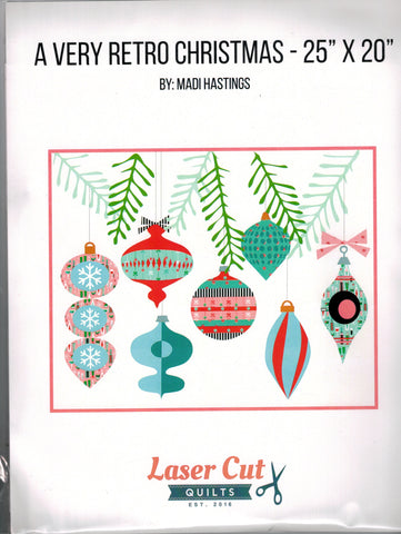 A Very Retro Christmas Laser Cuts & Pattern