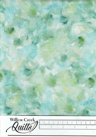 Foliage - Watercolor Texture - Turquoise Green - DP23746-62