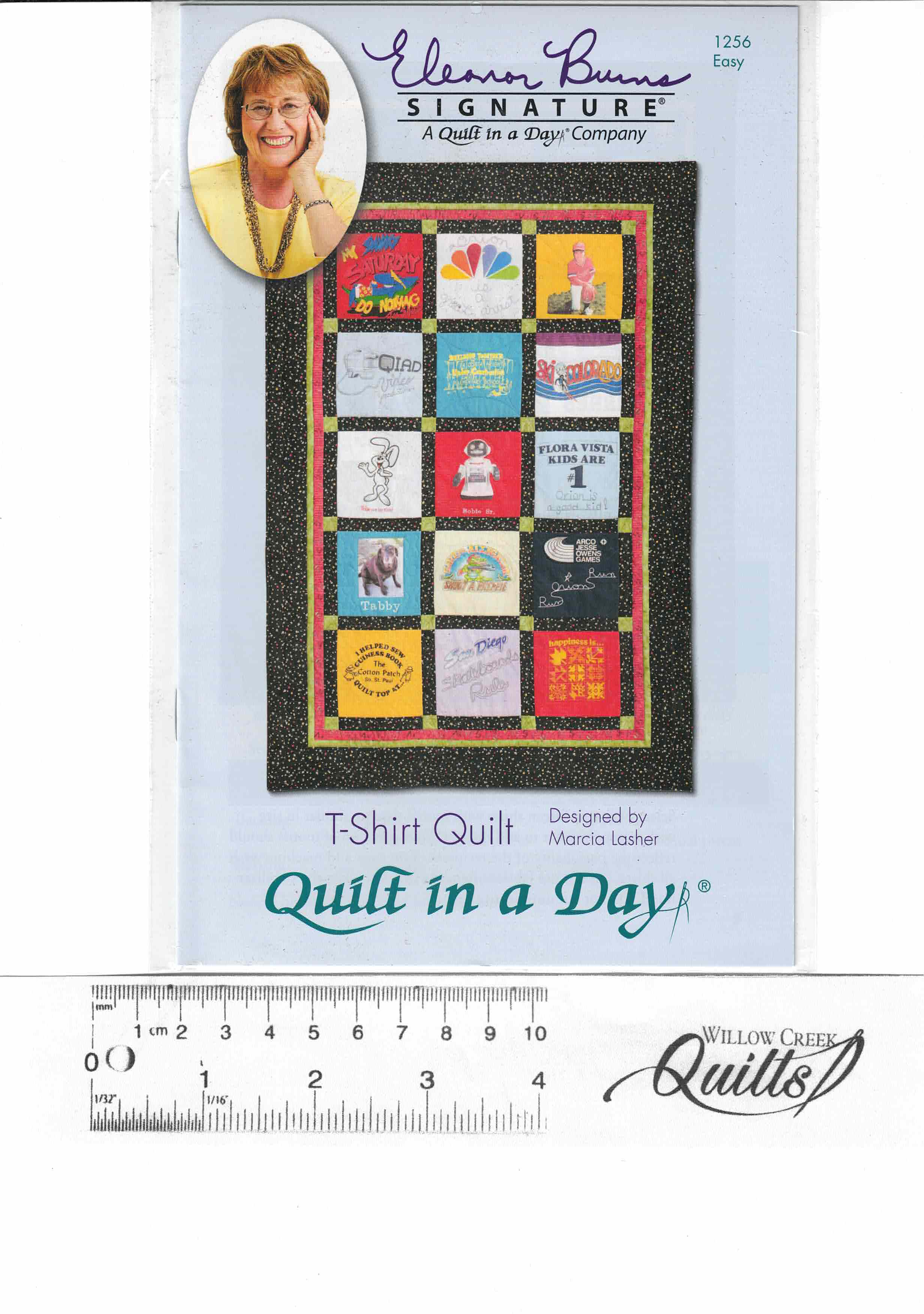 T-Shirt Quilt by Eleanor Burns - pattern - 1256