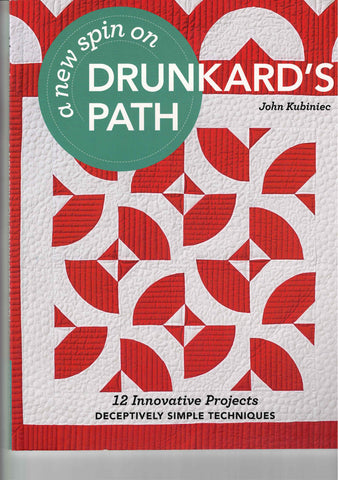 A New Spin on Drunkard's Path - Pattern book - 11182
