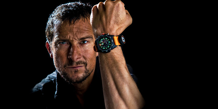 BEAR GRYLLS AND LUMINOX WATCH COLLABORATION  SURVIVAL COLLECTION