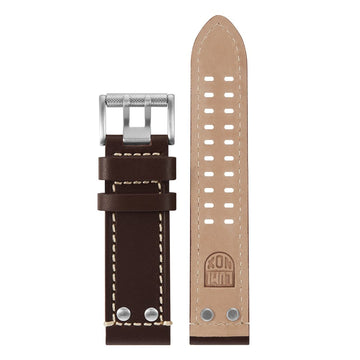 Brown Leather Strap (1800 Field Land Series) - 23mm