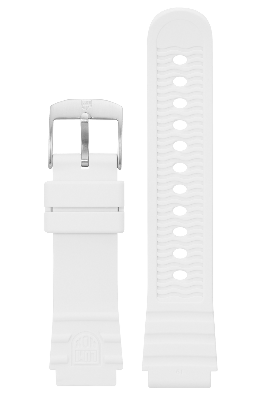 White Rubber Strap - 0300 series