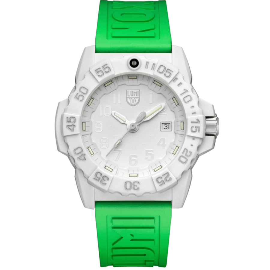 24mm Cut-To-Fit Luminox Branded Strap In Neon Green
