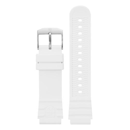 White Rubber Strap - 22mm
