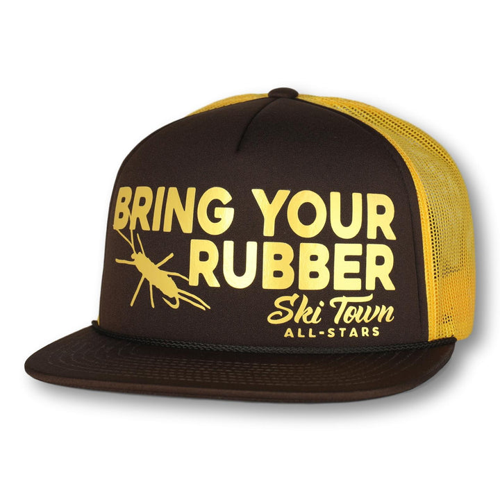 BRING YOUR RUBBER