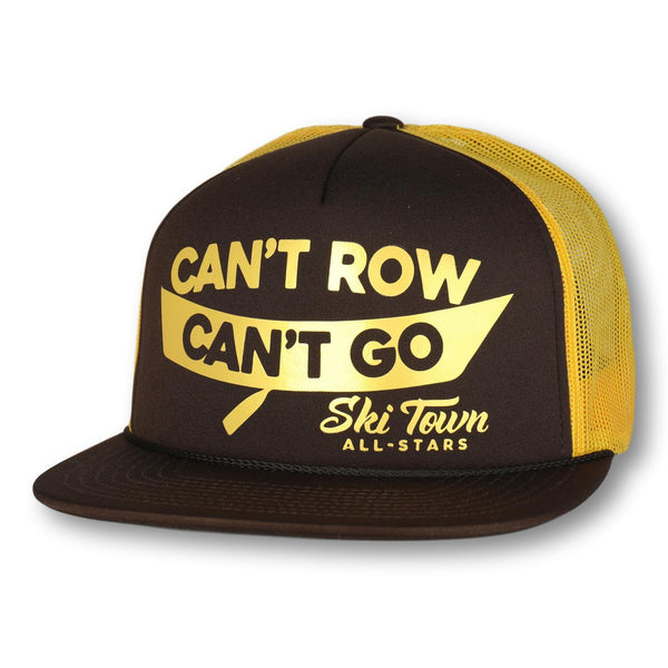 CAN'T ROW CAN'T GO