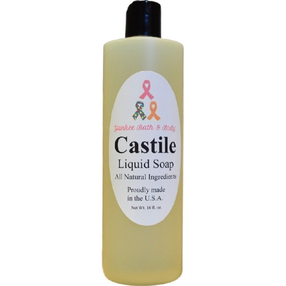 Natural Castile Liquid Soap
