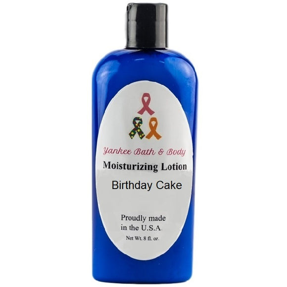 Birthday Cake Scented Moisturizing Lotion - Evening Primrose