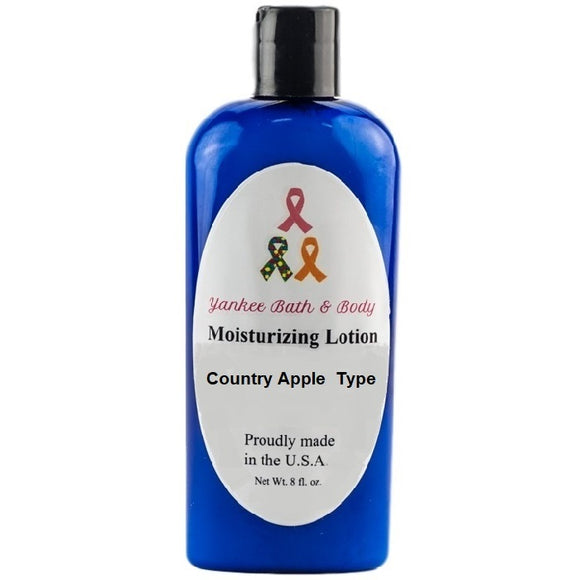 Country Apple Scented Moisturizing Lotion - Evening Primrose