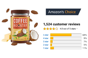 Amazon Reviews of Coffee Booster
