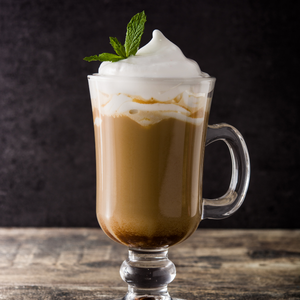 Glass mug - Peppermint & Cocoa Coffee Booster
