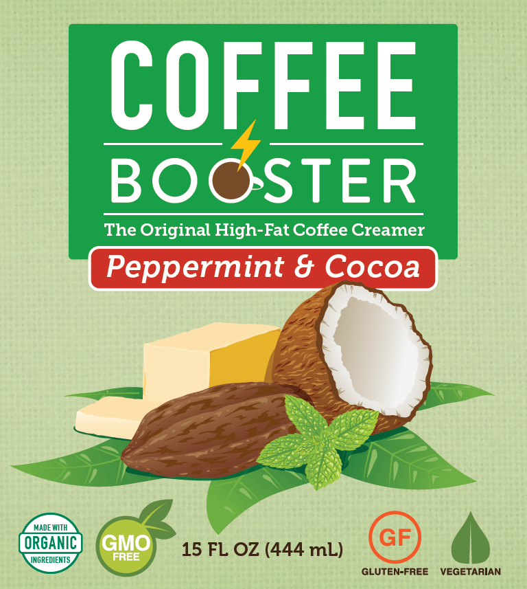 Coffee Booster - Peppermint & Cocoa