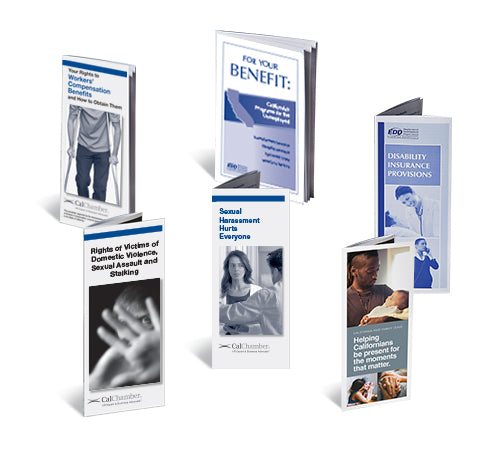 California Required Pamphlets Kit (Available in English or Spanish)