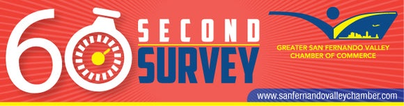 60-Second Survey Sponsor