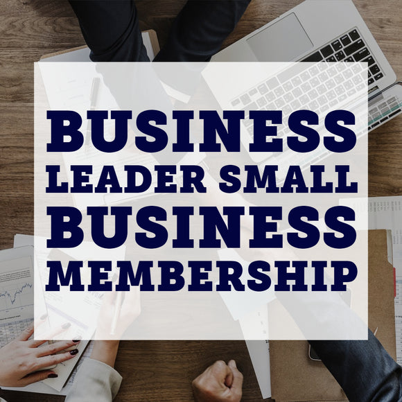 Business Leader Small Business Membership