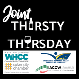 Joint Thirsty Thursday - August 13 - West Hollywood Chamber,  Culver City Chamber, & Italy-America Chamber West
