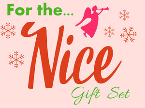 15% OFF - For the NICE - Gift Set