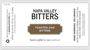 Toasted Oak Bitters