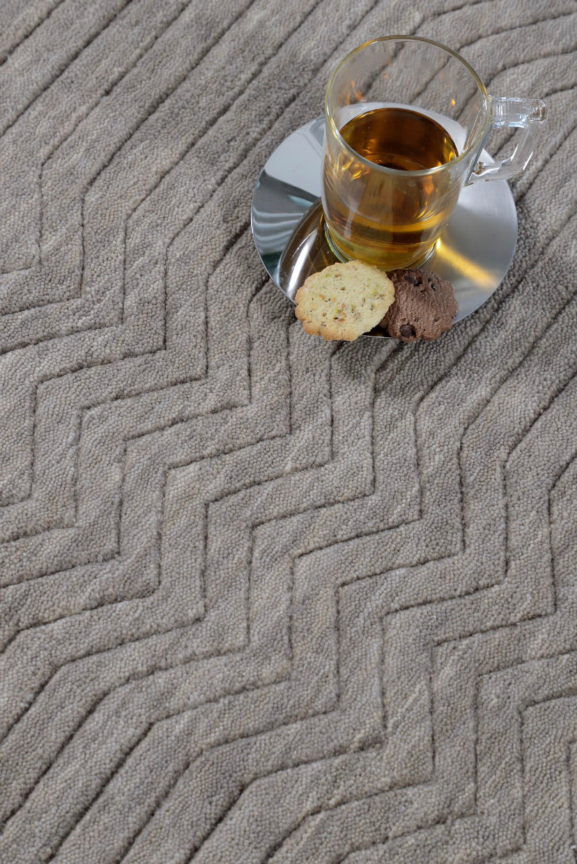 Alfombra Andes Taupe 250x350mts