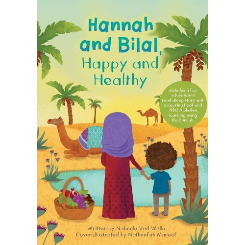 HANNAH AND BILAL, HAPPY AND HEALTHY