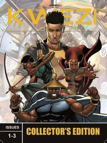 KWEZI: COLLECTORS EDITION 1 ISSUES 1-3