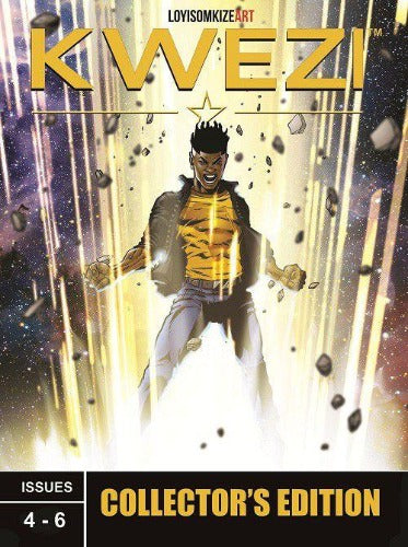 KWEZI: COLLECTORS EDITION 2 ISSUES 4-6