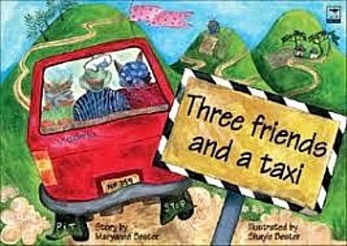 THREE FRIENDS AND A TAXI